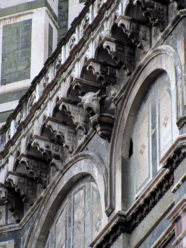 Florence Dome Bull's Head